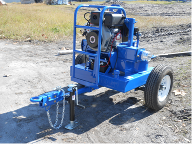 4 inch double diaphragm diesel pump w economy trailer ccuart Gallery